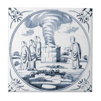 DBT10 Delft Biblical Design Ceramic Tile