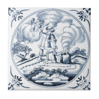 DBT12 Delft Biblical Design Ceramic Tile