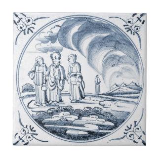 DBT17 Delft Biblical Design Ceramic Tile