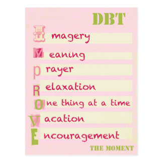 DBT - Improve the Moment Postcard