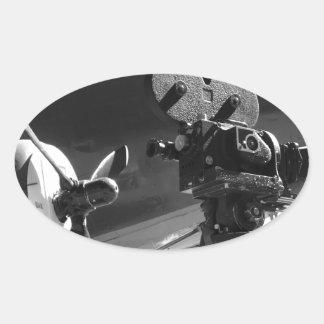 DC3moviecamIREH_edited-1.jpg Oval Sticker
