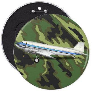 DC-3 6 INCH ROUND BUTTON