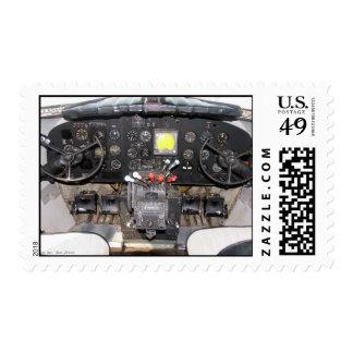 DC-3 Cockpit Stamps