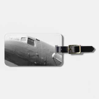 DC-3 Douglas Dakota Etiqueta Para Maleta