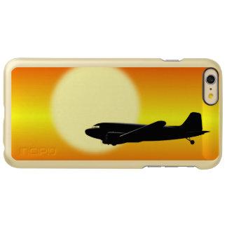 DC-3 passing sun. Incipio Feather® Shine iPhone 6 Plus Case