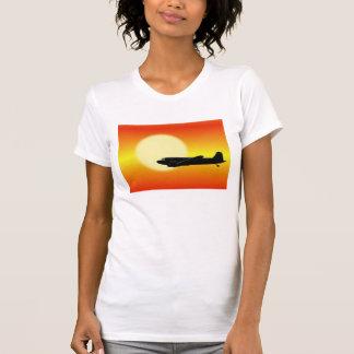 DC-3 que pasa sun. Tshirt