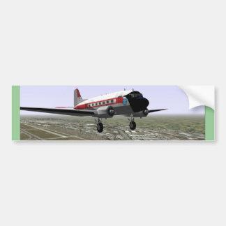 DC-3 Take-Off Bumper Sticker
