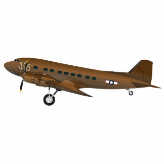 DC-3 US Army Standing Photo Sculpture