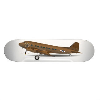 DC-3 US Army Skateboard Deck