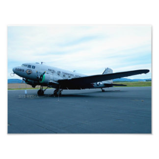 DC-3 Warplane Photo Print