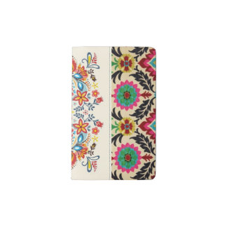 DC Boho Tapestry Pocket Moleskine Notebook Cover With Notebook