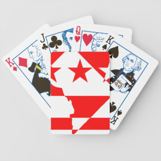 DC Borders Inverted Playing Cards