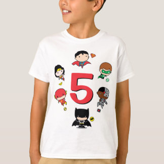 DC Comics | Justice League - Chibi Birthday T-Shirt