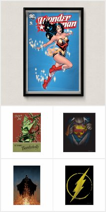 DC Comics™ Posters