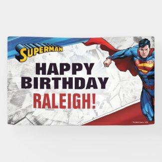 DC Comics | Superman - Birthday Banner