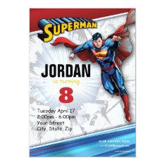 Dc Comics | Superman - Birthday Card at Zazzle