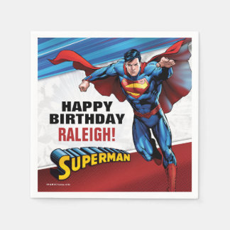 DC Comics | Superman - Birthday Napkin