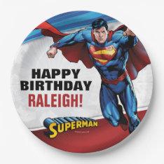 Dc Comics | Superman - Birthday Paper Plate at Zazzle