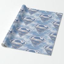 DC Comics | Superman | Cityscape Logo Wrapping Paper