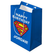 DC Comics | Superman | Classic Logo Medium Gift Bag