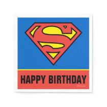 DC Comics | Superman | Classic Logo Paper Napkins