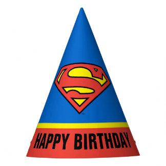 DC Comics   Superman   Classic Logo Party Hat
