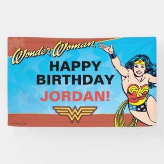 DC Comics | Wonder Woman Birthday Banner