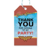 DC Comics   Wonder Woman Birthday Gift Tags