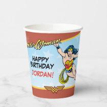 DC Comics   Wonder Woman Birthday Paper Cups