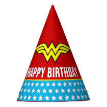 DC Comics   Wonder Woman Birthday Party Hat