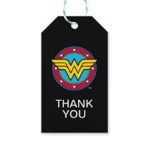 DC Comics   Wonder Woman Circle & Stars Logo Gift Tags