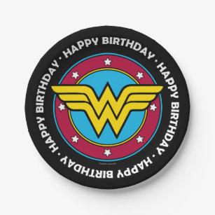Wonder Woman Plates Zazzle