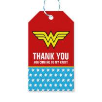 DC Comics   Wonder Woman Logo   Happy Birthday Gift Tags