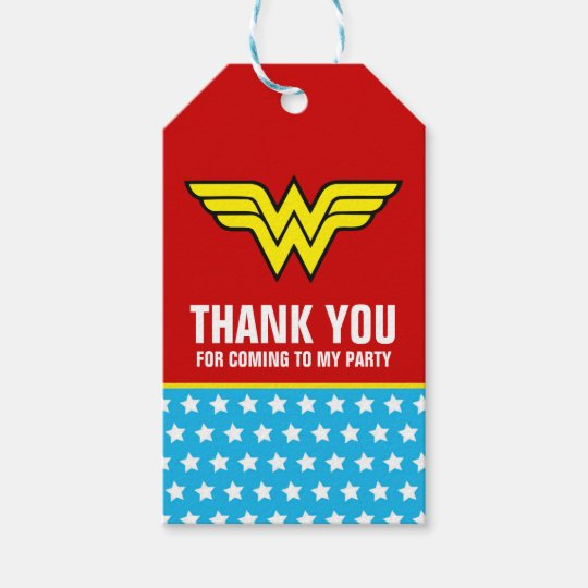 Dc comics wonder woman logo happy birthday gift tags zazzle dc comics wonder woman logo happy birthday gift tags pronofoot35fo Gallery