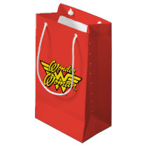 DC Comics   Wonder Woman Logo   Happy Birthday Small Gift Bag