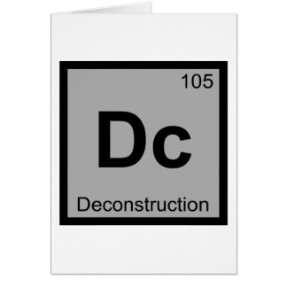 Dc - Deconstruction Chemistry Periodic Table Cards