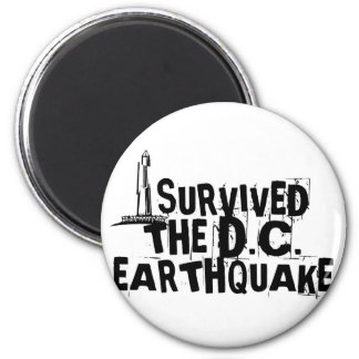 DC Earthquake 2 Inch Round Magnet