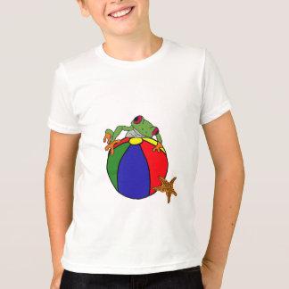 DC- Frog ona Beach ball Shirt