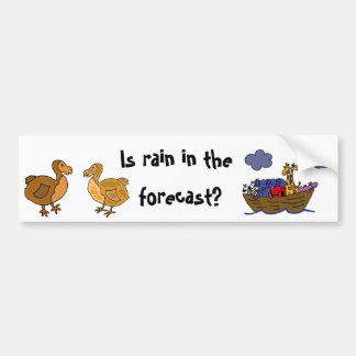 DC- Funny Dodo bird Bumper Sticker