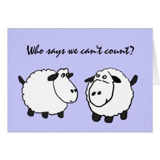 DC- Funny Sheep 50th Birthday Card