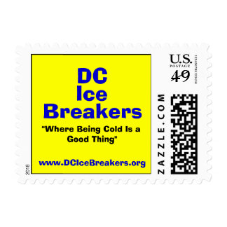 """DC, Ice, Breakers, """"Where Being Cold Is a Good ... Stamp"""