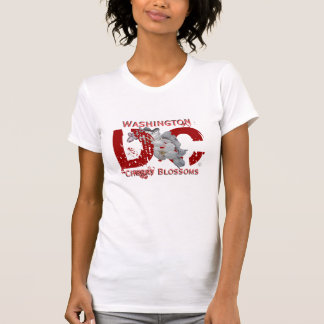 DC in Red (2x) Tshirt