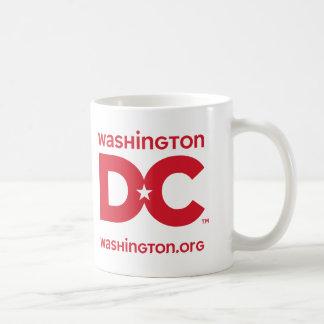 DC logo Classic White Coffee Mug