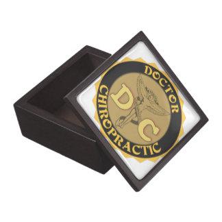 DC LOGO DOCTOR CHIROPRACTIC CADUCEUS PREMIUM JEWELRY BOX
