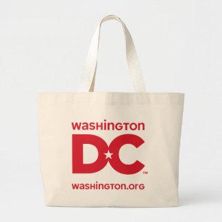 DC logo Jumbo Tote Bag