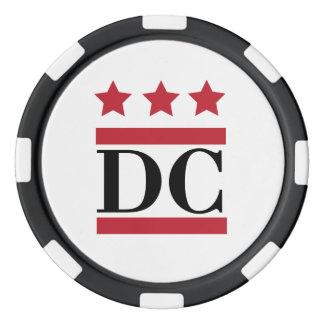 DC Logo Poker Chips