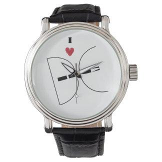 DC Logo Wrist Watch