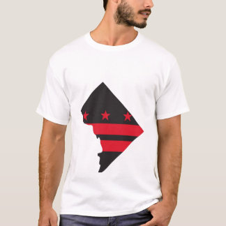 DC map & flag 02 T-Shirt
