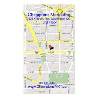 DC Meeting Tickets 4 Business Card Templates