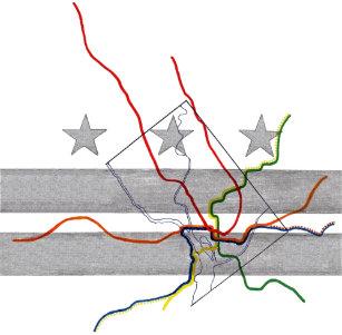 Metro Map Art Wall Decor Zazzle